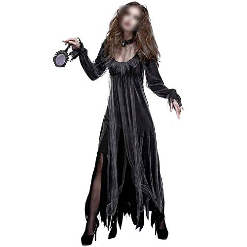 Halloween Gothic Horror Walking Dead Zombie Vampire Costume Black Dark Gruesome Ghost Scary Clothing