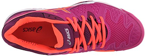 B Coral Shoe White Gel Tennis Flash Resolution Women's 12 6 Silver Berry US Plum Asics RawZOzqWZ