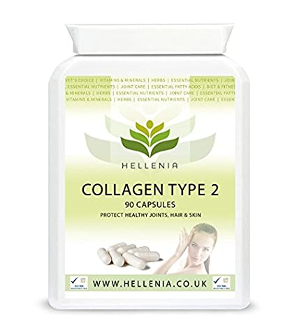 Colágeno Tipo II 400mg - 90 Cápsulas: Amazon.es: Salud y cuidado personal