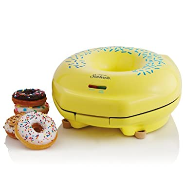 Sunbeam FPSBDML920 Donut Maker, Yellow