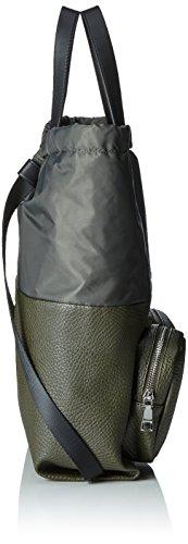 Pollini Bag, Borsa a Mano Donna, Nero, 36 x 11 x 35 cm (B x H x T)