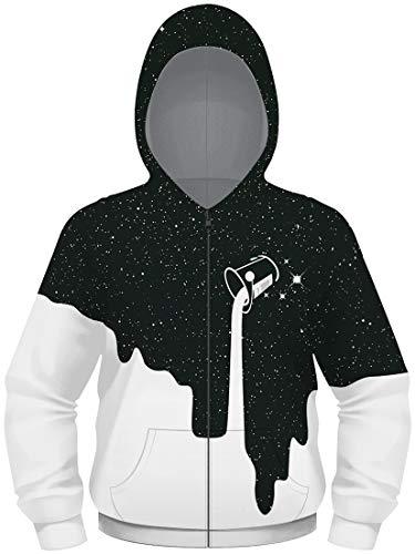 EMILYLE 소년 소년 후드 자 켓 코트 3D 프린트 지퍼 스웨터 멋쟁이 스포츠 정품 아동용 패션 개성 / EMILYLE Boys Boys Hoodie Jacket Coat 3D Print Zipper Sweater Fashionable Sportswear Active Kids Fashion Personality