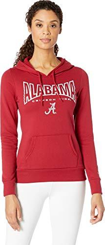 Champion College Women's Alabama Crimson Tide Eco University Fleece Hoodie Cardinal 2 Medium ()