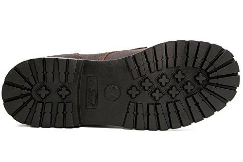Kingshow Heren 1366 Waterbestendige Premium Werkschoenen Brown1366