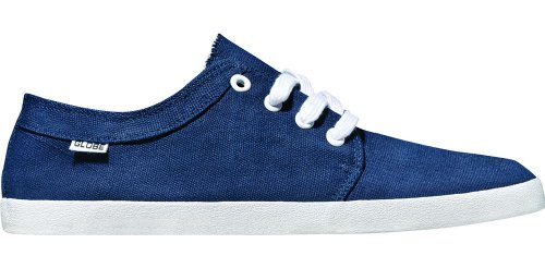 Globe Skateboard Shoes Red Belly Navy/Lime
