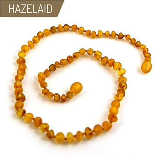 Hazelaid (TM) 22'' Baltic Amber Caramel Necklace - Twist Clasp by HAZELAID