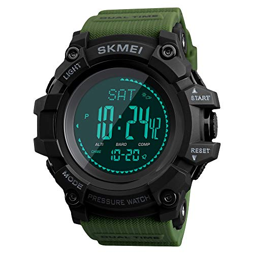 Compass Watch Army Digital