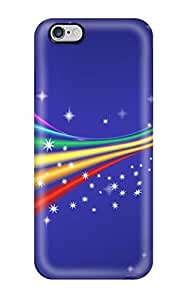 New Iphone 6 Plus Case Cover Casing(funky Rainbow )