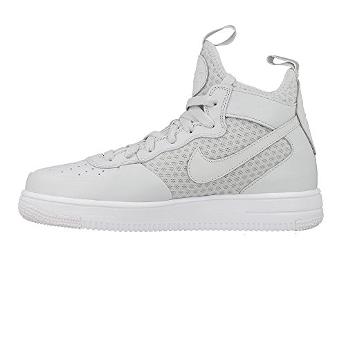 Zapatillas Nike – Air Force 1 Ultraforce Mid (GS) gris/blanco/gris