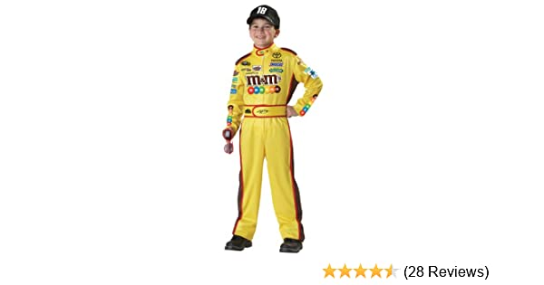 amazoncom california costumes nascar kyle busch child costume large plus toys games
