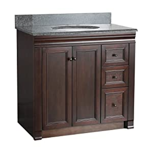 Foremost SHEA3621DR Shawna 36 Inch Bath Vanity with Right