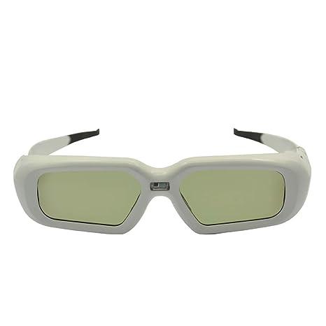 ZUZEN Gafas 3D Tipo de Obturador 3D Activo Gafas Bluetooth ...