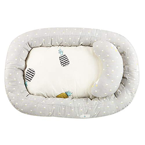 Discover Bargain BELUPAI Baby Bassinet for Bed,Newborn Infant Bassinet Baby Nest Snuggle Bed Crib Ma...