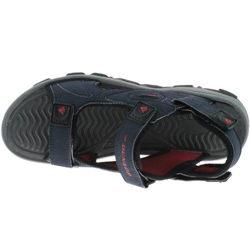 Dunlop  DMP558 Navy/Red, Sandales pour homme Multicolore Bleu marine/rouge
