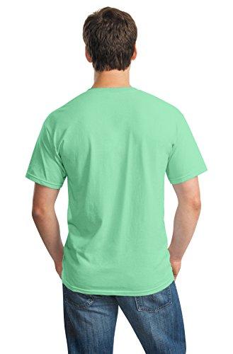 Pour Menthe Manches T À shirt Courtes Gildan Homme Vert 8qwvpzxn