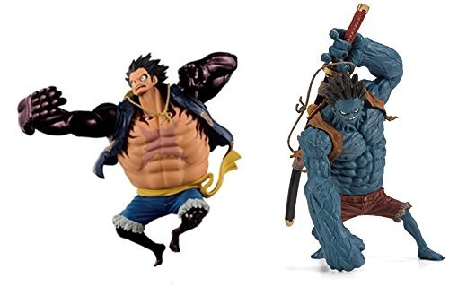 Fourth Gear (Piece SCultures BIG modeling King SPECIAL GEAR FOURTH MONKEY ? D ? LUFFY gear 4 & Nightmare Luffy two set)