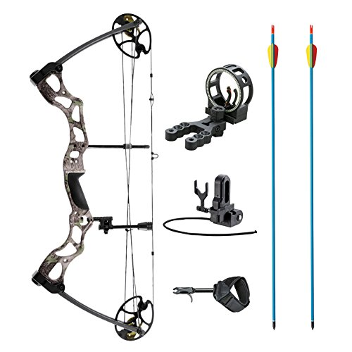 """XGear Outdoors Compound Bow 50-70lbs 25""""-31"""" with Max Speed"""