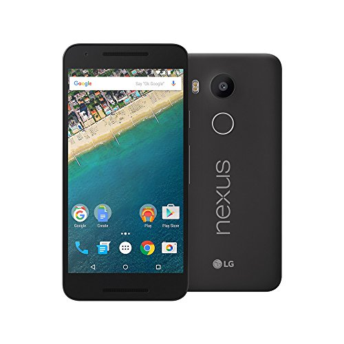 LG Google Nexus 5X H791 16GB 4G LTE 5.2-Inch Factory Unlocked (CARBON BLACK) - International Stock No Warranty (Lg Google Nexus 4 16gb)