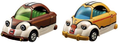タップンタップ キュービックマウス チップ&デール(ブラウン/オレンジ) 特別仕様車 「トミカ ディズニーモータース」
