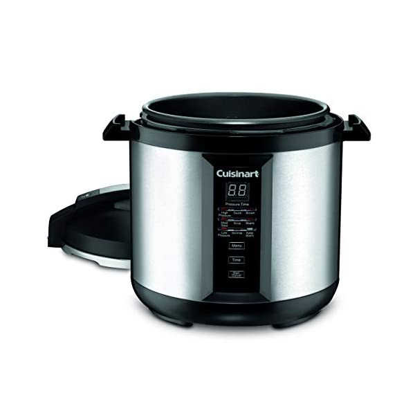 Cuisinart CPC-800 8-Quart Pressure Cooker, Silver 2