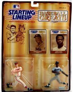 "1989  EDWIN MATHEWS Starting Lineup Card /""Baseball Greats/"" MILWAUKEE BRAVES"