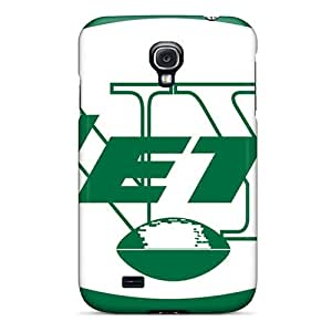 Protective Hard Cell-phone Case For Samsung Galaxy S4 With Customized Lifelike New York Jets Series MansourMurray