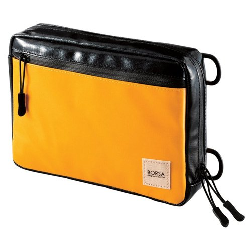 ELECOM Bag in Bag Gadget Pouch With Waterproof Zipper Yellow BMA-GP06YL by Elecom