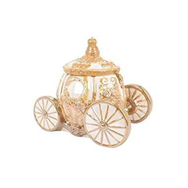 Disney Cinderella's Carriage Ceramic Cookie Jar