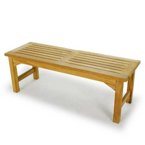 Amazon.com : 4 Ft Teak Shower Bench : Other Products : Patio, Lawn U0026 Garden