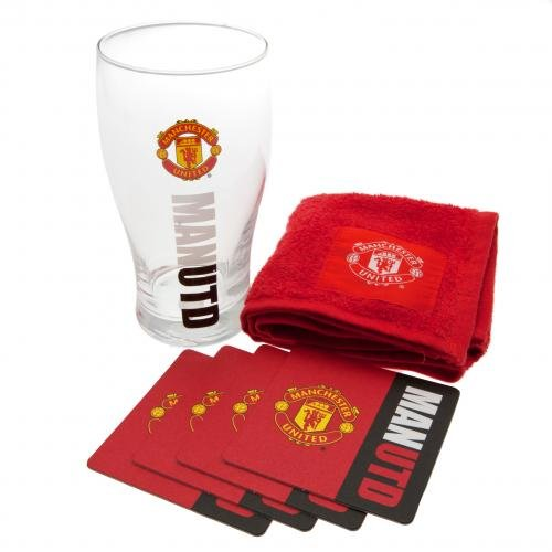 Manchester United F.c. Manchester United Work Mark Mini Bar Set - Multi-colour