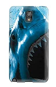 Faddish Phone Baring Teeth Case For Galaxy Note 3 / Perfect Case Cover