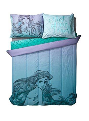 Disney The Little Mermaid Sketch Ombre Full/Queen Comforter