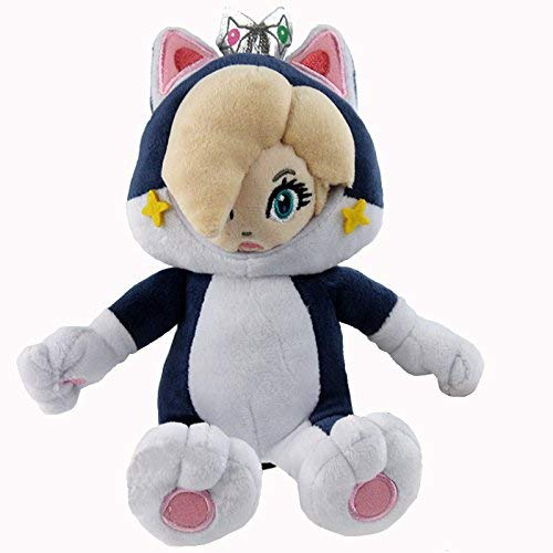Super Mario 3D World Cat Rosalina Princess Character Soft Plush Toy Stuffed Animal 9