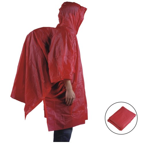 AceCamp 3908 Lightweight Vinyl Poncho, Assorted