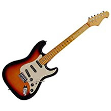 "BPI ""California Classic"" Solid Body Electric Guitar - Sunburst"