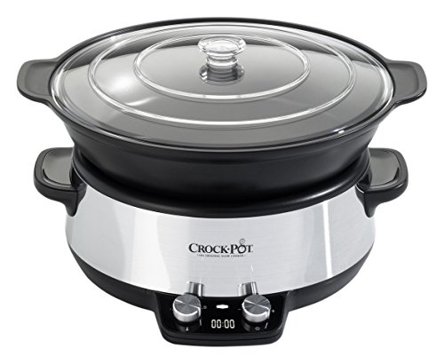 Crock-Pot CSC011X Digital Slow Cooker with Saute Bowl 220-240 Volt/ 50 Hz (INTERNATIONAL VOLTAGE & PLUG) FOR OVERSEAS USE ONLY WILL NOT WORK IN THE US, OUR PRODUCT ARE BRAND NEW, WE DO NOT SELL USED OR REFERBUSHED PRODUCTS.