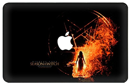 Customized Famous Movie Series Season Of The Witch Special Design Water Resistant Hard Case for Macbook Pro 13 Inch Retina Display A1706/A1708 with/without Touch Bar & Touch ID (NEWEST Release 2016)