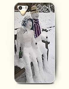 OOFIT iPhone 4 4s Case - Snowman Lovers