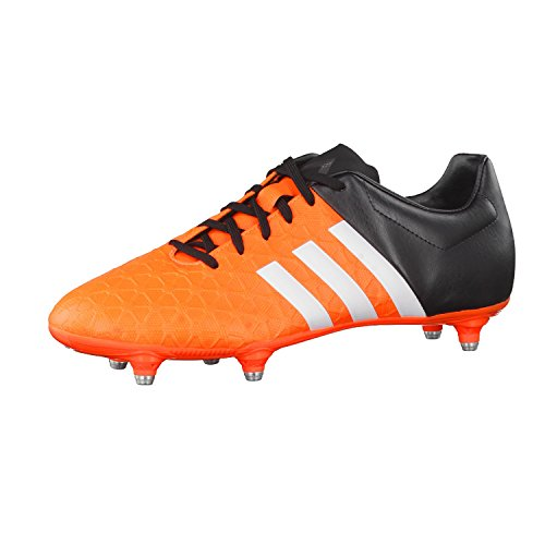 adidasace15.4 SG - zapatillas de fútbol hombre solar orange/ftwr white/core black
