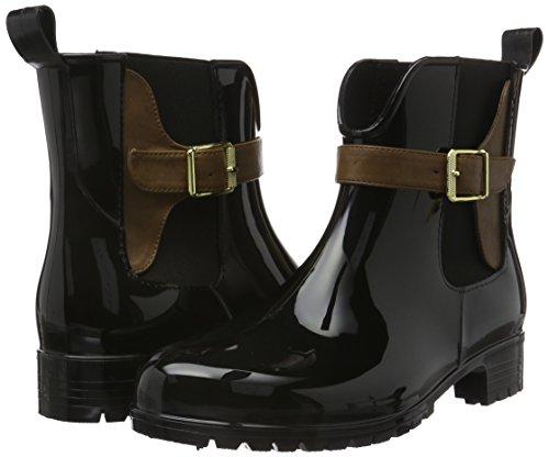 Pewter 25410 Ankle Tamaris black 7 023 St Comb Women's cognac Schwarz Uk Boots wZOS1Fq