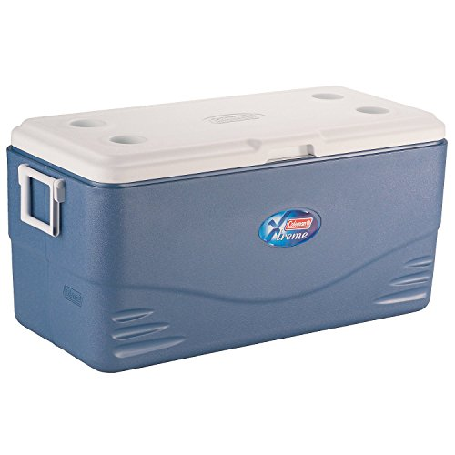 Coleman 3000004955 Cool Box Xtreme, Blue/White, 91 Liters (35x1.5L bottles)