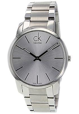 Calvin Klein Men's Silver Tone Dial Stainless Steel
