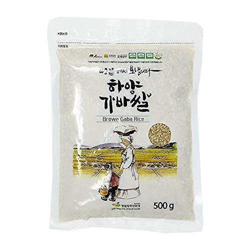 Korean Premium Sprouted Brown Gaba Rice, 500g Pouches - Gaba Sprouted Rice Brown