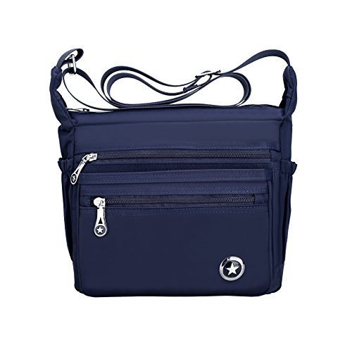 Women Navy Nylon Handbags Bag Fabuxry Purses Cross Shoulder Casual Body Blue Bags Bags Messenger for wtHTqO