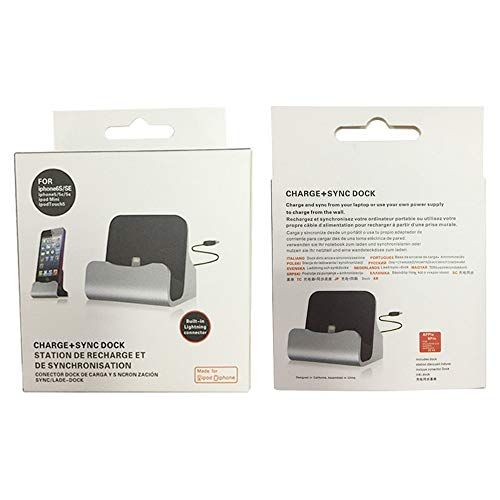 Autumn Water Charging Base Dock Station for IP X 8 7 6 USB Cable Sync Cradle Charger Base for Android Type C Samsung Stand Holder by Autumn Water (Image #4)