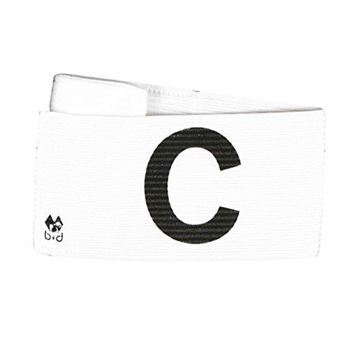 Velcro Fastener B+D Spielf/ührer Armbinde Klettverschluss Captains Armband