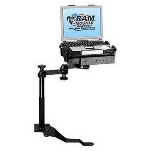 RAM Mounts (RAM-VB-170-SW1) No-Drill Laptop Mount for the Jeep Wrangler by RAM MOUNTS