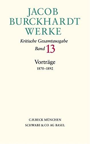 Read Online Vortrage, 1870-1892 (German Edition) pdf