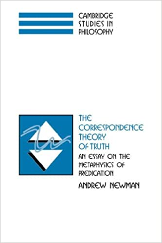 com the correspondence theory of truth an essay on the  the correspondence theory of truth an essay on the metaphysics of predication cambridge studies in philosophy 1st edition
