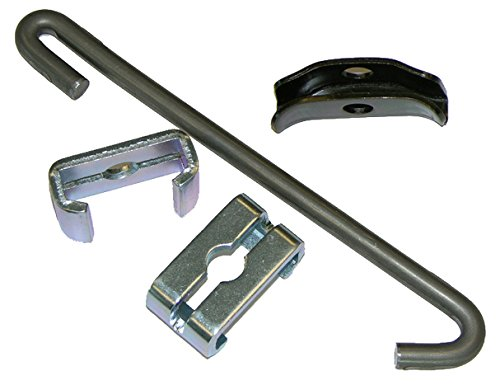 Compatible With 1968-1972 GM A-body T400 Emergency Parking Brake Cable Guide Hardware Set BOP